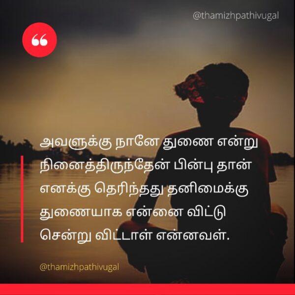 thunai - sad dp